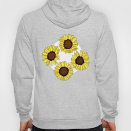 Sunflowers are the New Roses! - White Hoody