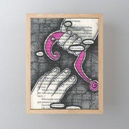 Twenty-two. Framed Mini Art Print