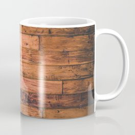Wooden Floor Planks Coffee Mug