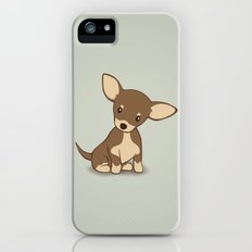 Chihuahua Puppy Illustration iPhone (5, 5s) Slim Case