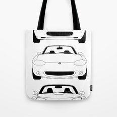 MX-5/Miata Generations Tote Bag