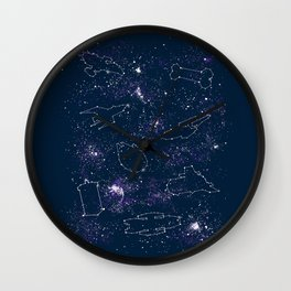 Star Ships Wall Clock