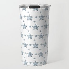 Silver Stars Travel Mug