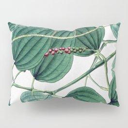 Green leaves I Pillow Sham