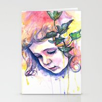 poison ivy Stationery Cards featuring Poison Ivy by Lauralouisa