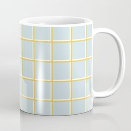 MINIMAL GRID BLUE Coffee Mug