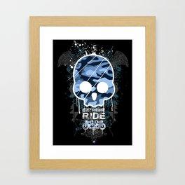 Extreme ride Framed Art Print