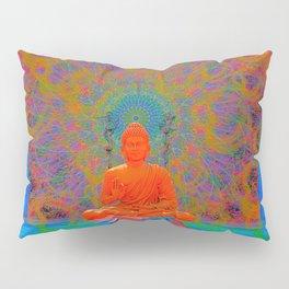 Cool Water Zen (Ultraviolet) (psychedelic, meditation) Pillow Sham