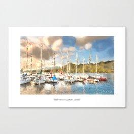 Mont-Tremblant Marina Canvas Print