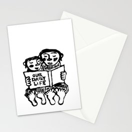 our daily life Stationery Cards