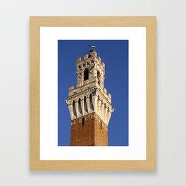 Piazza del Campo, Siena Framed Art Print