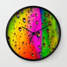 Taste The Rainbow Wall Clock