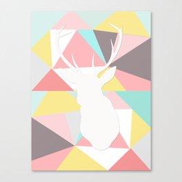 Geometric Buck Canvas Print