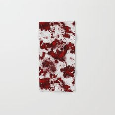 Blood Stains Hand & Bath Towel