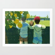 Spring Training Art Print