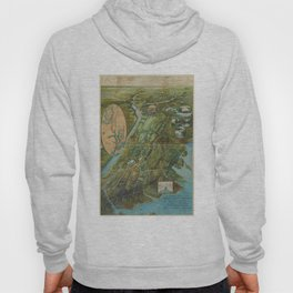 Vintage Map of the Bronx NY (1915) Hoody