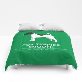 Fox Terrier Smooth Comforters