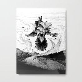 Iris sky Metal Print