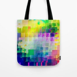 Exploded Spectrum Tote Bag