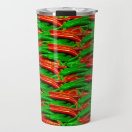 Chili Hot Peppers Travel Mug
