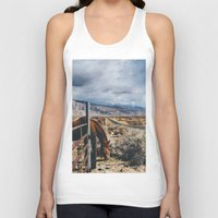 kerouac Tank Tops featuring type-fast (kerouac had a first name) by heretosaveyouall