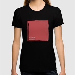 Cranberry 17-1545 TCX | Pantone | Color Trends | London | Fall Winter 2019 2020 | Solid Colors | T-shirt