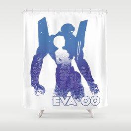 Rei Ayanami EVA 00 - Evangelion Shower Curtain