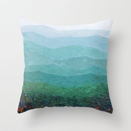 Fall in the Shenandoah Throw Pillow