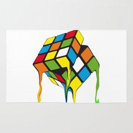 Retro Rubik´s Cube Rug