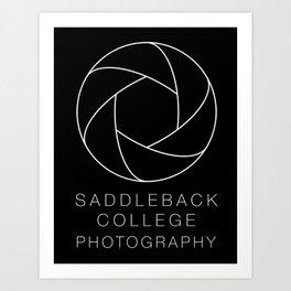Saddleback College Photography Art Print