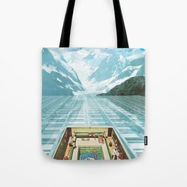 Glacial Bathing Tote Bag