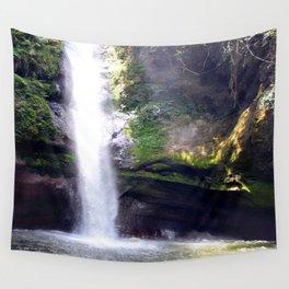 Dream of Mermaids in Waterfalls  Wall Tapestry