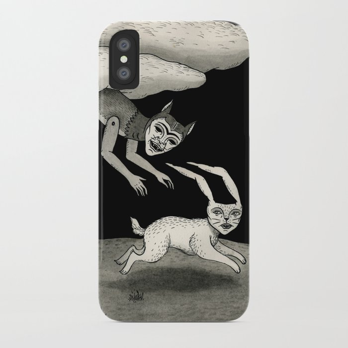 The Abduction iPhone Case