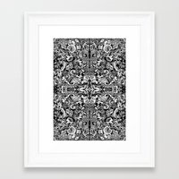 vertigo Framed Art Prints featuring Vertigo by András Récze