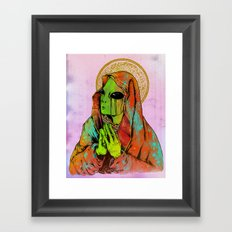 Mother Mary Framed Art Print