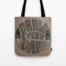 Draw Everyday Tote Bag