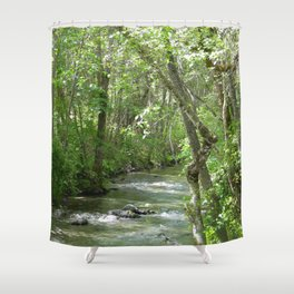 Peaceful moments.... Shower Curtain