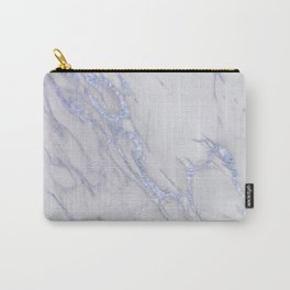 Marble Love Sapphire Metallic Carry-All Pouch