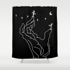 as played by the hand of fate Shower Curtain