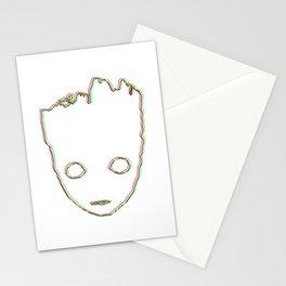 Baby ɢʀᴏᴏᴛ 3D style Stationery Cards