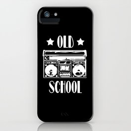 Old School Old School 90s iPhone Case