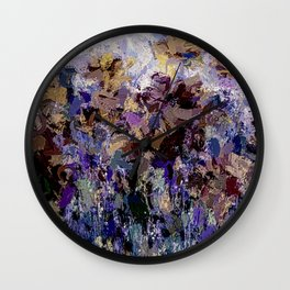 The Visionary Poetry Abstract Wall Decor Wall Clock