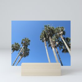 Palm Trees in Santa Barbara Mini Art Print