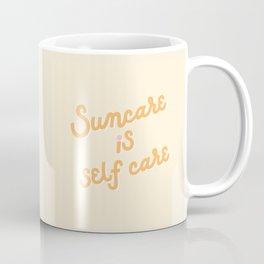 Suncare Is Self Care x Olay Coffee Mug