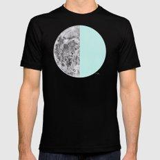 Half Moon Mens Fitted Tee Black MEDIUM