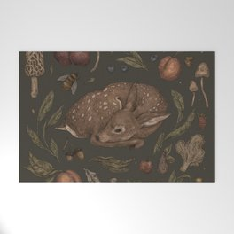 Foraging Fawn Welcome Mat