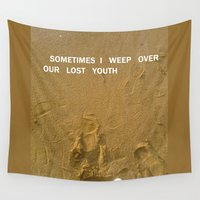 sand Wall Tapestries featuring sand by gasponce