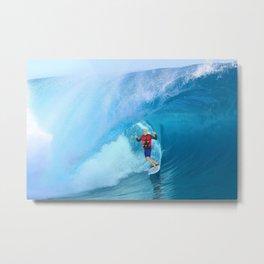 Surf Sweater Metal Print