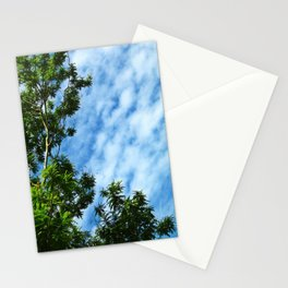 .look at the sky. Stationery Cards