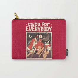 Cats for Everybody Carry-All Pouch